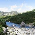 Początek potoku Roztoka #Góry #Tatry #KoziWierch #CzarneŚciany #ZadnyGranat