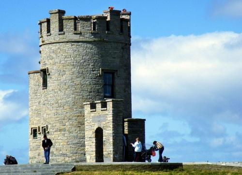zamek na Klifach Moherowych w Irlandii