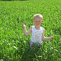 Mały rolnik #dzieci #Zboże #zieleń
