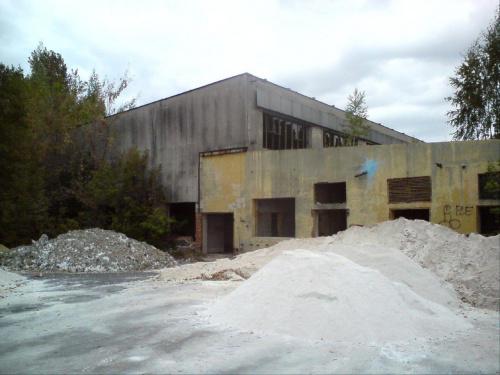 Tomaszowska Spółdzielnia Mleczarska. Resztki hali produkcyjnej. #tomaszów #mleczarnia