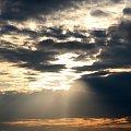 #Bralin #chmury #ZachódSłońca