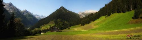 Zdjęcie zrobione poza zleceniem na reklame Pensjonatu w Austri. #Alpy #Austria #Hinterhornbach #Lechtal