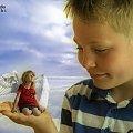 Dla Ciebie stworzę nam własne niebo! #Dziecko #Montarz #Naris #Photoshop