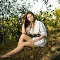 Kinga #kobieta #dziewczyna #portret #las #woda #park #nikon #passiv #airknig