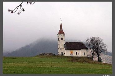 Kościół św. Jana Ewangelisty, Gorenja vas k. Logateca, Słowenia