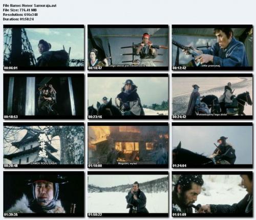Honor Samuraja / Goyokin (1969) DVDRip.DivX. Napisy POLSKIE