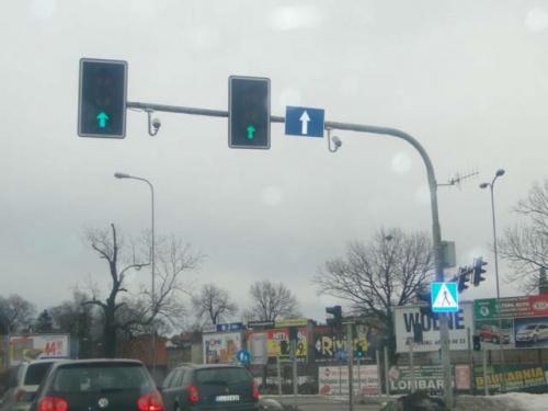Kamery czerwone światło poznań