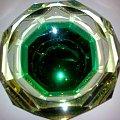 szkło uranowe #popielniczka #zielona #uranowa #szkło #PopielnicaUranowa #UraniumGlass