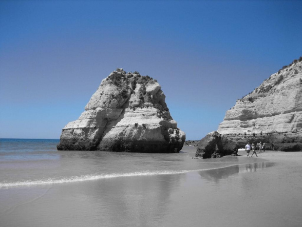 Praia da Rocha [tylko 1 kolor] #Portugalia #Algarve #PraiaDaRocha #morze #Atlantyk #ocean