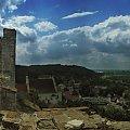 panorama z ruin w kazimierzu dolnym na wisłę i rynek. #panorama #kazimierz #ruiny #zamek