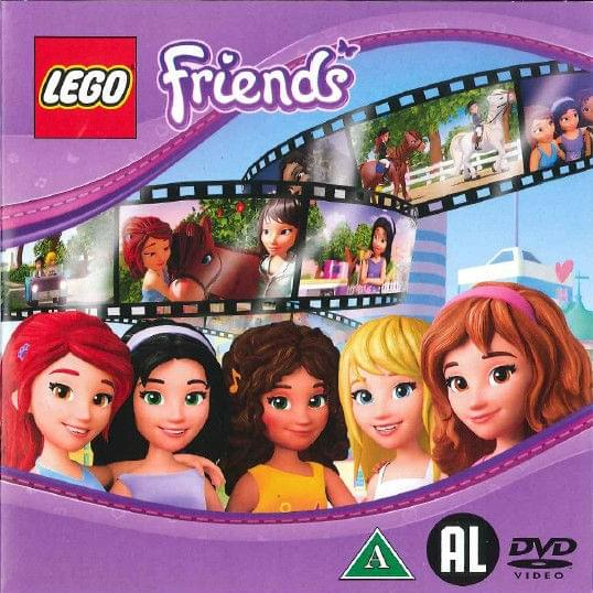 lego friends dvd film