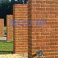 #elewacje #klinkier #klinkierowe #mury #ogrodzenia #słupki #ściany #ZKlinkieru