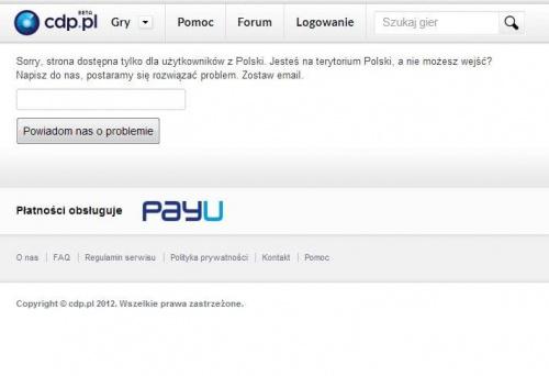 Tadek Admin CDP.pl w FAQ napisał/a: