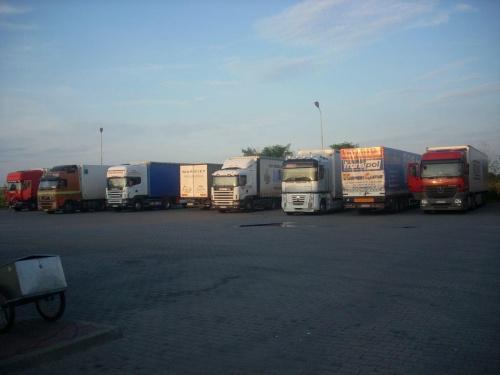 #parking #ciężarówki #CiągnikiSiodłowe