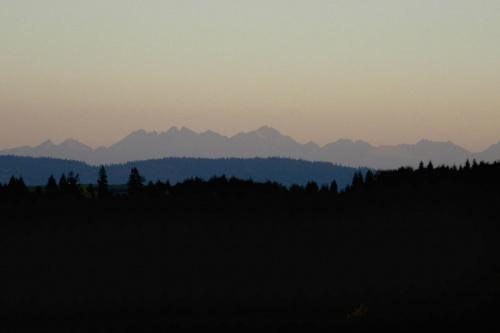 Tatry z odległości ok 60km #góry #tatry
