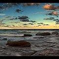 plaza wielorybow #chmury #ocean #poranek #przyroda #woda #WschódSłońca