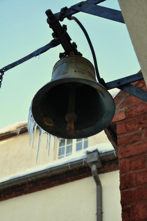 Sople #dzwony #zima
