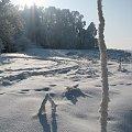 Daleko od domu #Krajobraz #mróz #Przyroda #Śnieg #Zima