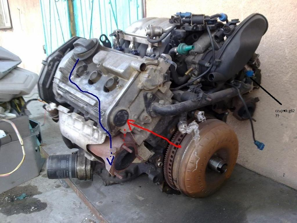 Audi A6 A7 Klub Polska Czujnik G62 Czujnik Temperatury Płynu