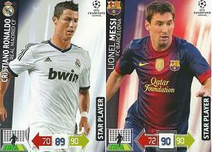 Champions League 2012 13 Lionel Messi Vs Cristiano Ronaldo Kt Ry