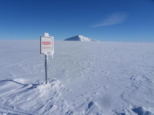 Śnieżka po czesku :) #góry #karkonosze #szadż #śnieżka #zima