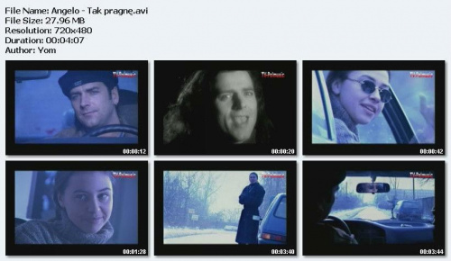 Angelo - Tak pragnê (1996)
