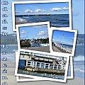 Gdańsk-Brzezno, miejsce spacerow, plażowania i widoków z pięknego mola! #collage #NadMorzem #molo