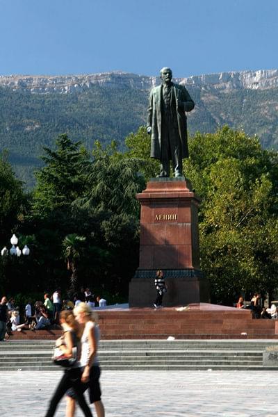 Lenin w Jałcie #ukraina #lenin