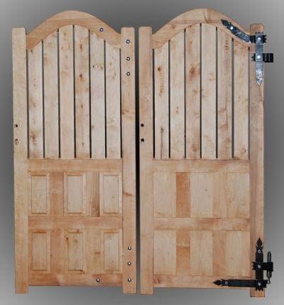 Nietypowe drzwi drewniane na zamówienie pod konkretny wymiar www.stanpor.pl