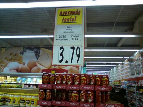 Promocja? Obnizka z tej samej ceny>>?? Kaufland TM :P #Kaufland