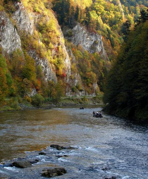 jesienny spływ