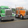2 peterbilty 379 mało ale ładnie ztunigowane :) #peterbilt #truck #ZlotyCiężarówekWUsa
