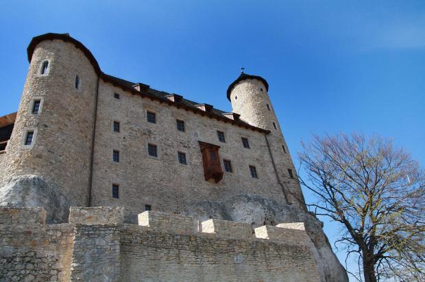 Zamek Bobolice - jeszcze dzień pierwszy zwiedzania #Zamki #bobolice #zwiedzanie #SzlakGniazdOrlich