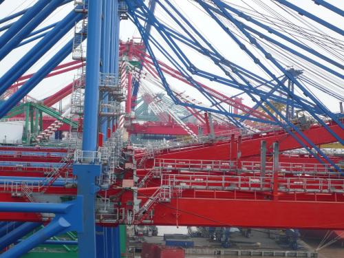 Istna pajęczyna #konstrukcje #suwnice #dźwigi #mechanika