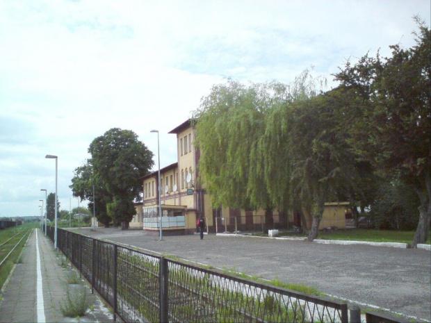 Budynek dworca PKP w Opocznie. #PKP #Opoczno