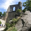 Fragment ruin klasztornych #oybin #niemcy #ViaSacra #kurort