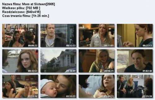 Prawdziwe dziecko / Mom at Sixteen / Szesnastoletnia mama (2005) PL.DVBRIP.RMVB