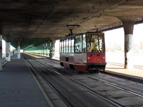 Odjechał?? #Warszawa #MostGdański #tramwaj