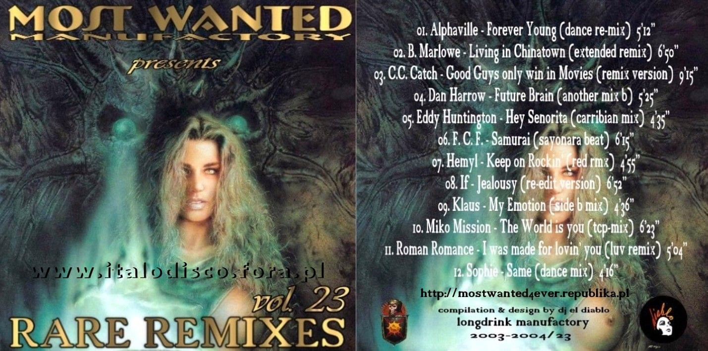 Most Wanted Rare Re-Mixes vol.23