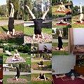 collage z mojej jogi #collage #yoga