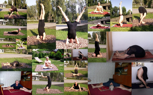 collage z mojej jogi #collage #yoga