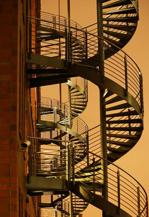 Schody. #schody #noc #port #hamburg
