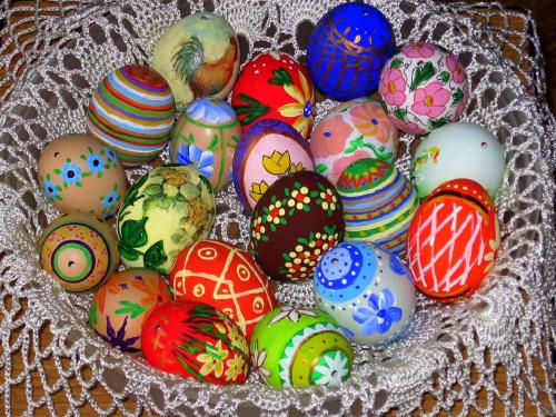 trochę już świątecznie #wielkanoc #pisanki #handmade