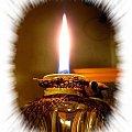 Zrobiło się zimno i mokro więc znowu ją zapaliłam... #lampka #płomień #światło #ciepło