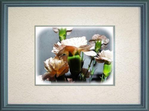 Moje urodzinowe gozdziki #gozdziki #kwiaty #bukiet #namalowane