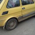 maluszek znaleziony tam gdzie czesto bywam #maluch #polskie #LicencjaFiat #żółty