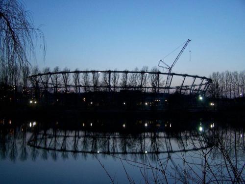 stadion śląski chorzów-budowa #architektura #ficiol007